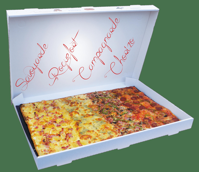 plaques pizzas